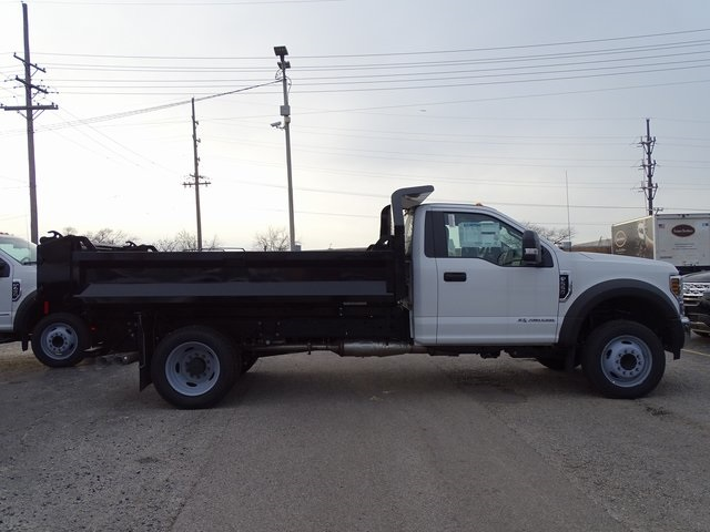 2018 F-550 Regular Cab DRW 4x2,  Knapheide Drop Side Dump Body #56253 - photo 10