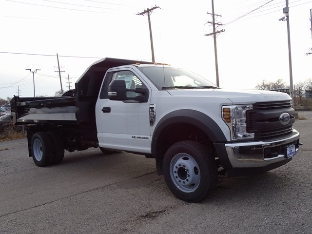 2018 F-550 Regular Cab DRW 4x2,  Knapheide Drop Side Dump Body #56253 - photo 11
