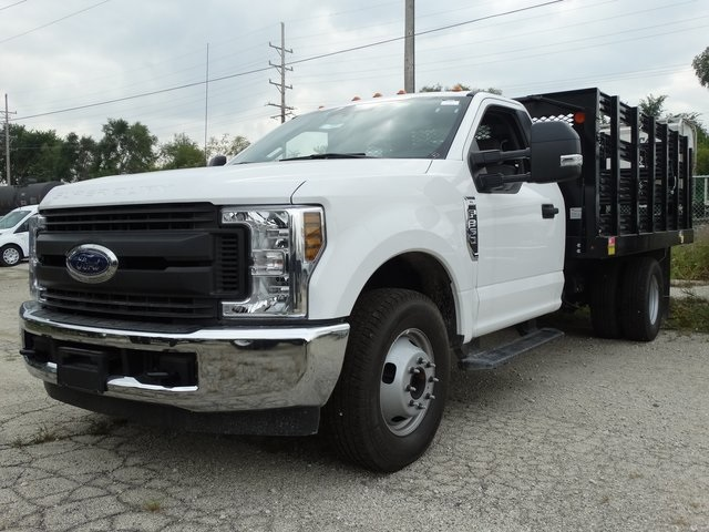 2018 F-350 Regular Cab DRW 4x2,  Monroe Work-A-Hauler II Stake Bed #56365 - photo 1