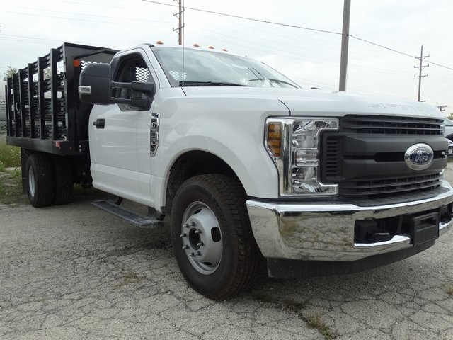 2018 F-350 Regular Cab DRW 4x2,  Monroe Work-A-Hauler II Stake Bed #56365 - photo 15