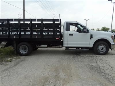 2018 F-350 Regular Cab DRW 4x2,  Monroe Work-A-Hauler II Stake Bed #56365 - photo 16