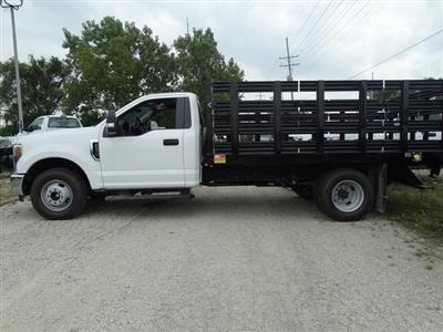 2018 F-350 Regular Cab DRW 4x2,  Monroe Work-A-Hauler II Stake Bed #56365 - photo 18