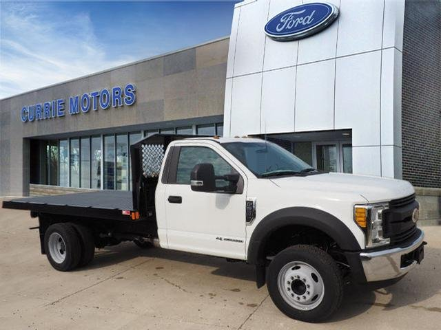 2017 F-550 Regular Cab DRW, Monroe Work-A-Hauler II Platform Platform Body #H10086 - photo 1