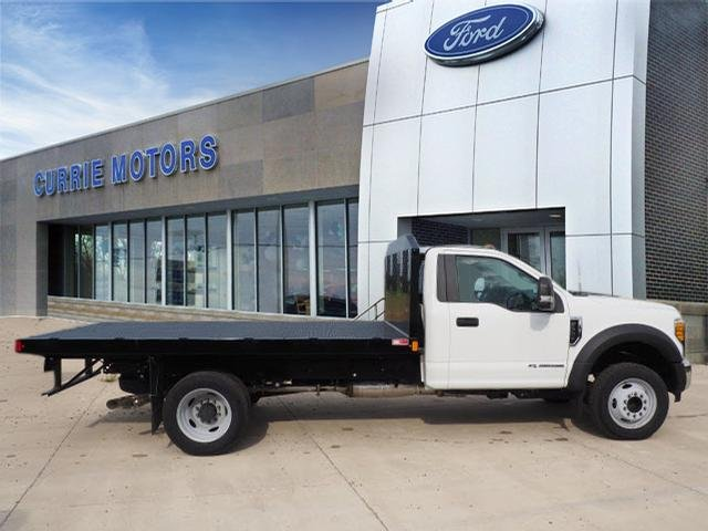 2017 F-550 Regular Cab DRW, Monroe Work-A-Hauler II Platform Platform Body #H10086 - photo 3