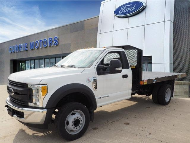 2017 F-550 Regular Cab DRW, Monroe Work-A-Hauler II Platform Platform Body #H10086 - photo 4