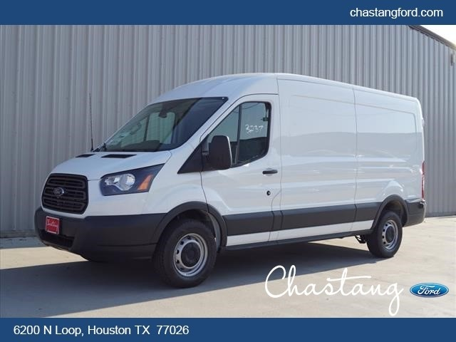 2018 Transit 250 Med Roof 4x2,  Weather Guard Upfitted Cargo Van #JKB14341 - photo 1