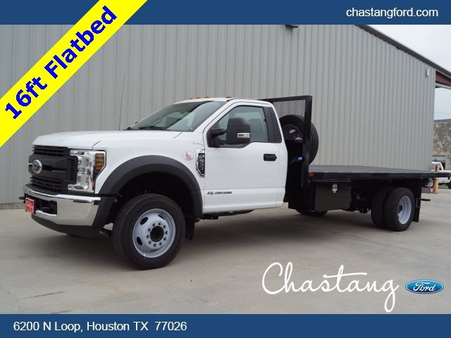 2019 F-550 Regular Cab DRW 4x2,  General Platform Body #KDA14114 - photo 1