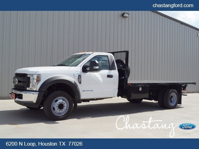 2019 F-550 Regular Cab DRW 4x2,  General Platform Body #KDA14122 - photo 1