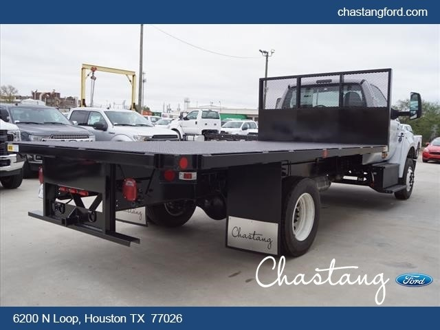 2019 F-650 Regular Cab DRW 4x2,  Batterson Platform Body #KDF02715 - photo 1