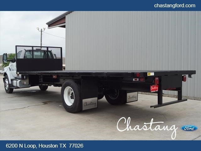 2019 F-750 Regular Cab DRW 4x2,  Batterson Platform Body #KDF03067 - photo 11