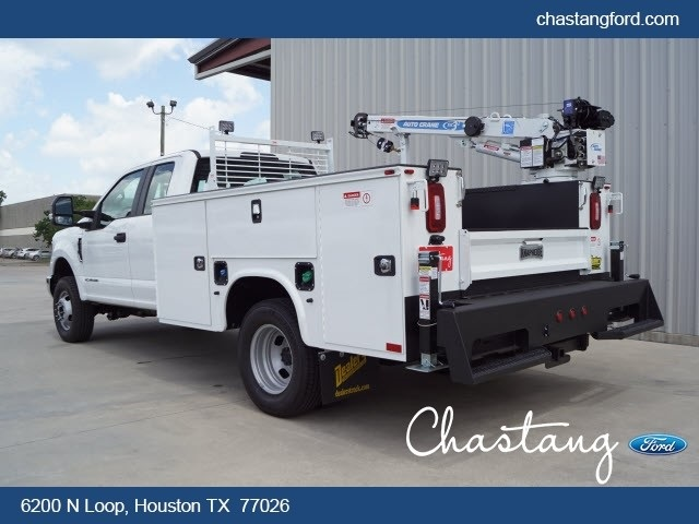 2019 F-350 Super Cab DRW 4x4,  Knapheide Crane Body #KEE28810 - photo 1