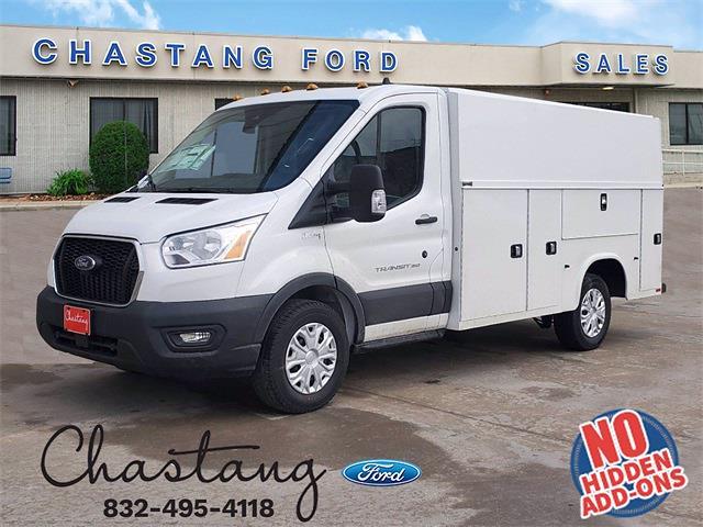 2020 Ford Transit 350 4x2, Knapheide Service Utility Van #LKB68922 - photo 1