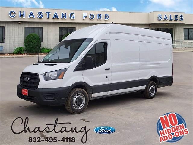 2020 Ford Transit 350 High Roof 4x2, Adrian Steel Upfitted Cargo Van #LKB71875 - photo 1