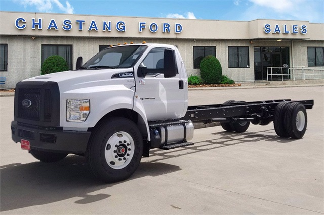 2021 Ford F-750 Regular Cab DRW 4x2, Cab Chassis #MDF03998 - photo 1