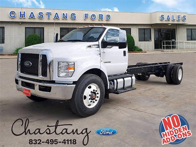 2021 Ford F-750 Regular Cab DRW 4x2, Cab Chassis #MDF07376 - photo 1