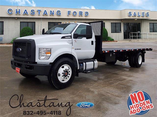 2021 Ford F-750 Regular Cab DRW 4x2, Truck and Equipment Repair of Texas Platform Body #MDF08635 - photo 1