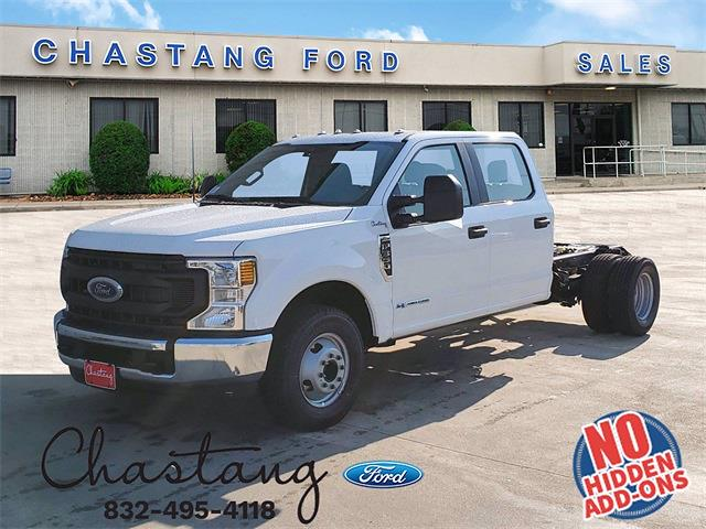 2021 Ford F-350 Crew Cab DRW 4x2, Cab Chassis #MED98023 - photo 1