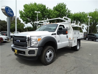 2016 F-550 Regular Cab DRW, Knapheide Contractor Bodies Contractor Body #F16281 - photo 1