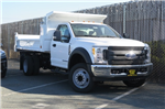 2017 F-550 Regular Cab DRW Dump Body #F19714 - photo 1