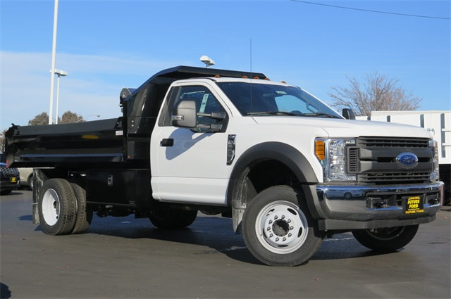2017 F-550 Regular Cab DRW, Dump Body #F20018 - photo 1