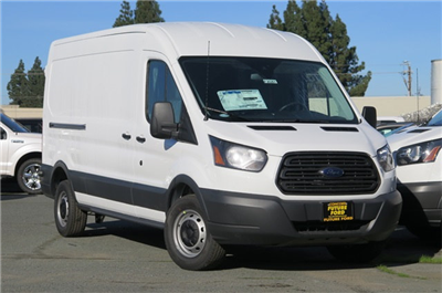 2018 Transit 250 Med Roof, Cargo Van #F20225 - photo 1