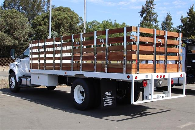 2022 Ford F-650 Regular Cab DRW 4x2, Stake Bed #F25464 - photo 1