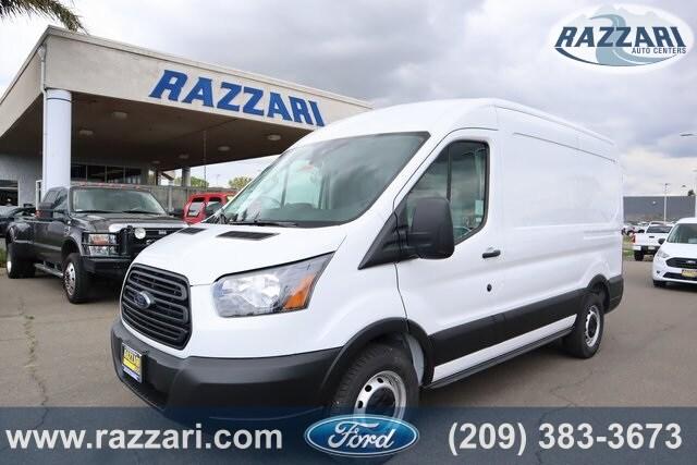 2019 Transit 150 Med Roof 4x2,  Adrian Steel Upfitted Cargo Van #51166 - photo 1
