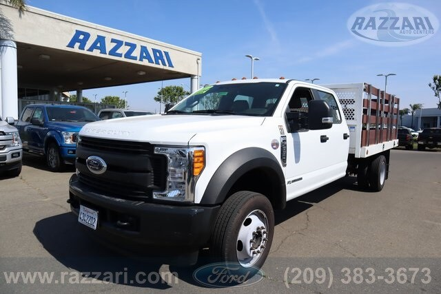 2017 F-550 Crew Cab DRW 4x4,  Stake Bed #FP7783 - photo 1