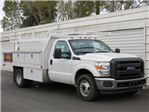 2015 F-350 Regular Cab DRW, Harbor Contractor Body #F343939 - photo 3