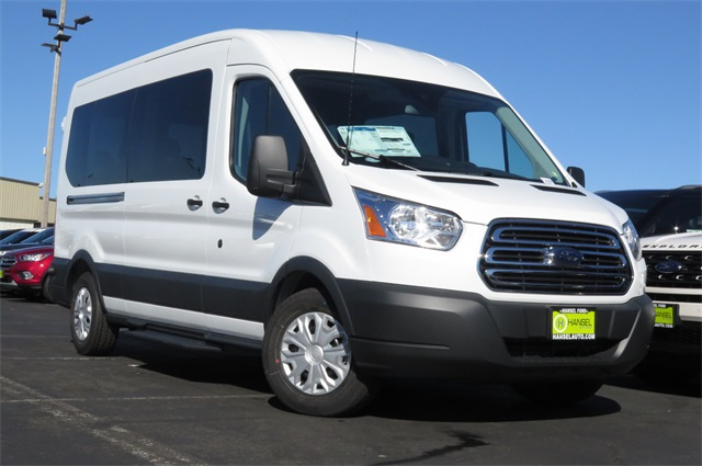 2017 Transit 350 Medium Roof, Passenger Wagon #F348608 - photo 3