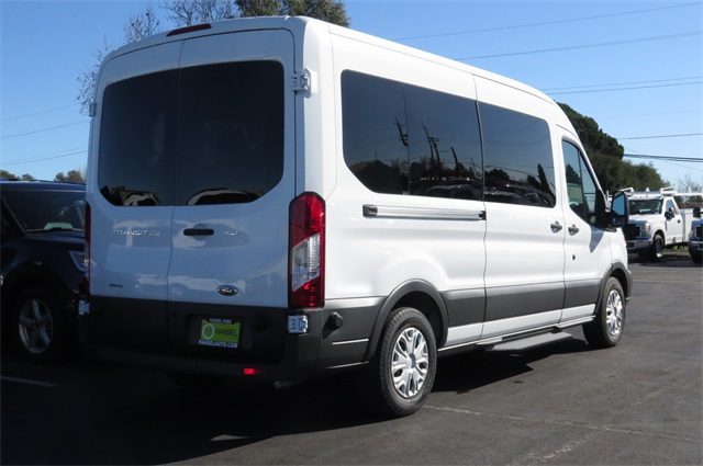 2017 Transit 350 Medium Roof, Passenger Wagon #F348608 - photo 2