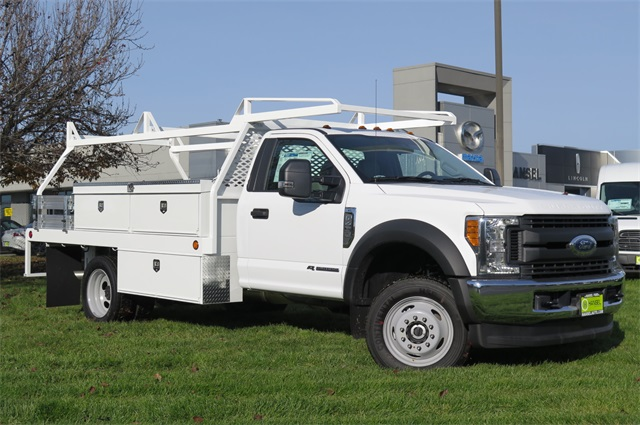 2017 F-450 Regular Cab DRW 4x4, Contractor Body #F348768 - photo 3