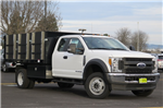 2017 F-450 Super Cab DRW 4x4, Landscape Dump #F348814 - photo 3