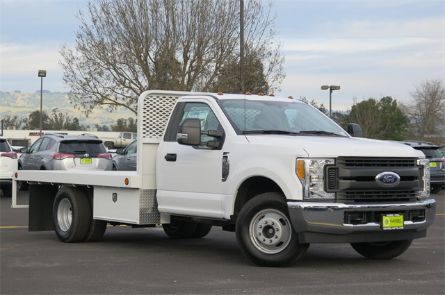 2017 F-350 Regular Cab DRW, Scelzi Platform Body #F349201 - photo 3