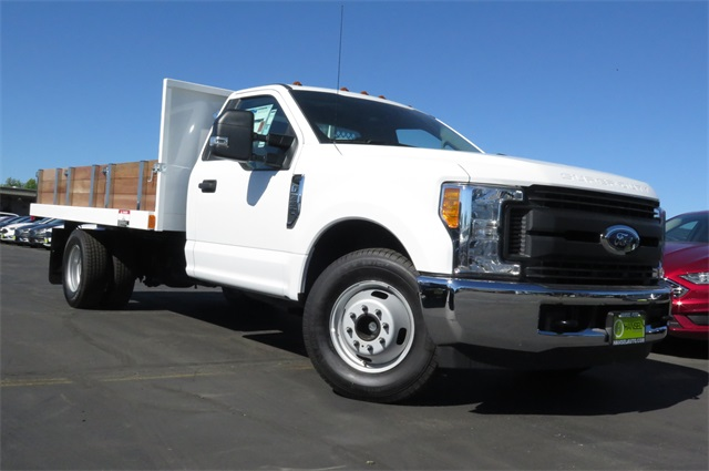 2017 F-350 Regular Cab DRW, Platform Body #F349313 - photo 3