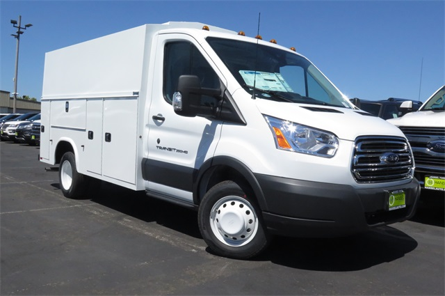 2017 Transit 350 HD Low Roof DRW, Service Utility Van #F349822 - photo 3