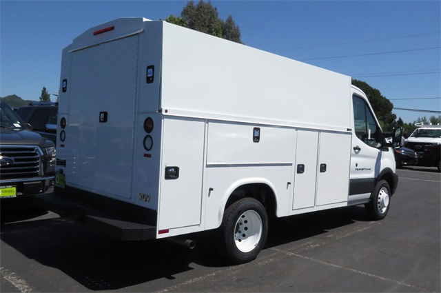 2017 Transit 350 HD Low Roof DRW, Service Utility Van #F349822 - photo 2