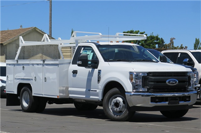 2018 F-350 Regular Cab DRW 4x2,  Service Body #F352106 - photo 3