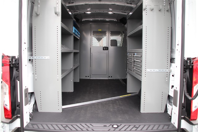 2020 Ford Transit 250 Med Roof AWD, Adrian Steel Upfitted Cargo Van #F355356 - photo 1
