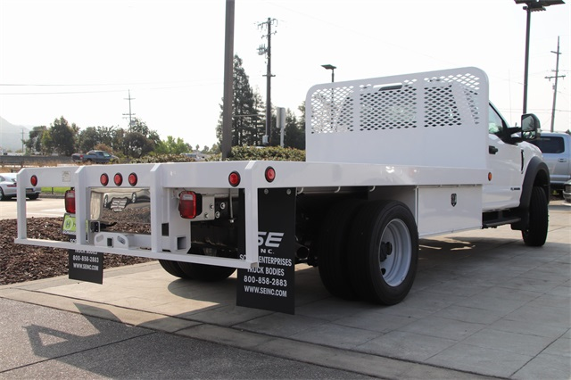 2020 Ford F-550 Regular Cab DRW 4x2, Scelzi Platform Body #F356041 - photo 1