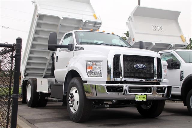 2022 Ford F-650 Regular Cab DRW 4x2, Scelzi Dump Body #F357401 - photo 1