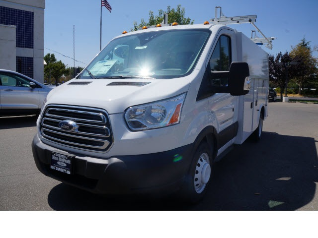 2015 Transit 350 HD Low Roof DRW, Service Utility Van #F2207 - photo 3