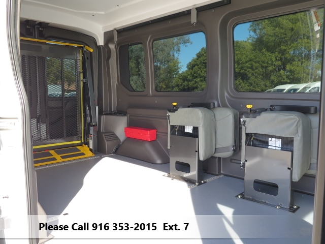2016 Transit 250 Med Roof 4x2,  Mobility #FM11367 - photo 4