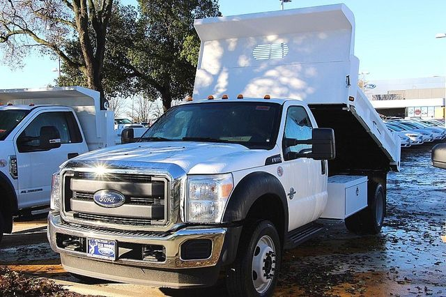 2016 F-550 Regular Cab DRW, Dump Body #23970 - photo 4