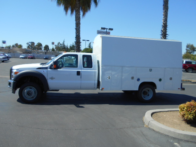2016 F-550 Super Cab DRW 4x4, Harbor Service Utility Van #49779 - photo 3