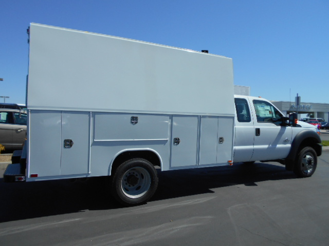 2016 F-550 Super Cab DRW 4x4, Harbor Service Utility Van #49779 - photo 2