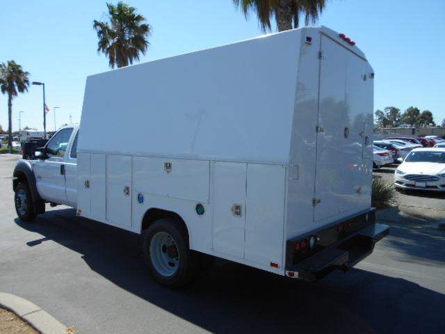 2016 F-550 Super Cab DRW 4x4, Harbor Service Utility Van #49779 - photo 8