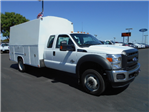 2016 F-550 Super Cab DRW 4x4, Harbor Service Utility Van #49779 - photo 1