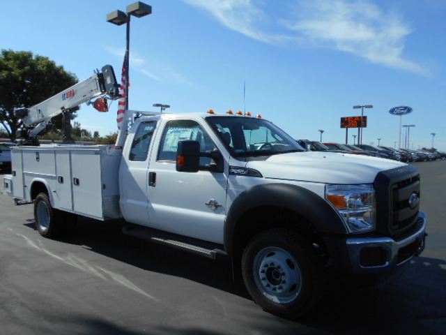 2016 F-550 Super Cab DRW 4x4, Knapheide Mechanics Body #49816 - photo 8