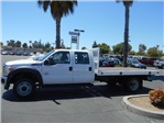 2016 F-550 Crew Cab DRW, Royal Flatbed #49924 - photo 1
